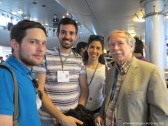 With Gerardus 't Hooft (Nobel Laureate, Physics, 1999)