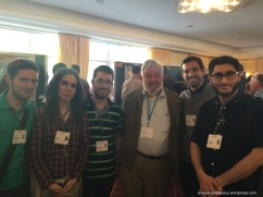 With Martinus J. G. Veltman (Nobel Laureate, Physics, 1999)